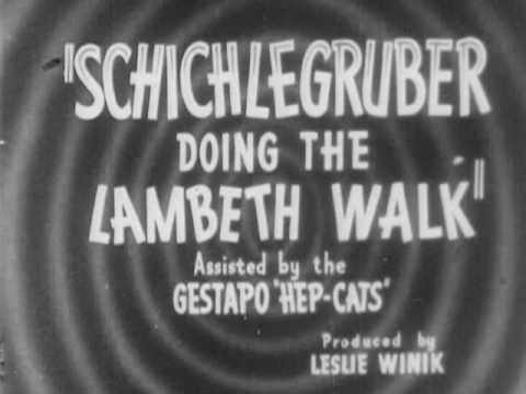 Lambeth Walk: Nazi Style - by Charles A. Ridley (1941)