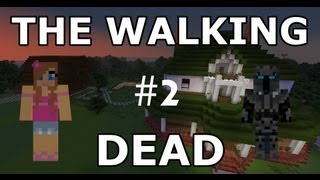 Minecraft - The Walking Dead - Part 2 - Adventure Map - With Jen