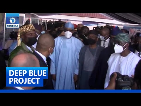 Download LIVE: President Buhari Flags Off Deep Blue Project In Lagos