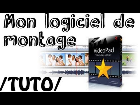 tuto mon logiciel de montage videopad youtube. Black Bedroom Furniture Sets. Home Design Ideas