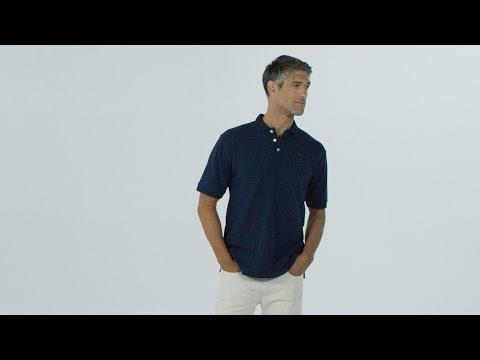e1c22a0a3e8 ORVIS - Signature Piqué Polo Shirt - YouTube