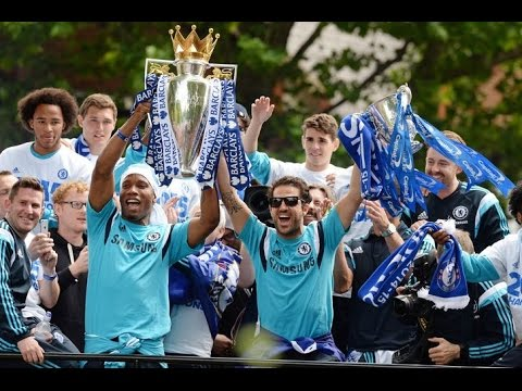 Chelsea: Thousands flock to see team parade Premier League trophy through London