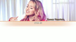 Emma Heesters Someone You Loved (lewis Capaldi Cover) English Color Coded Lyric