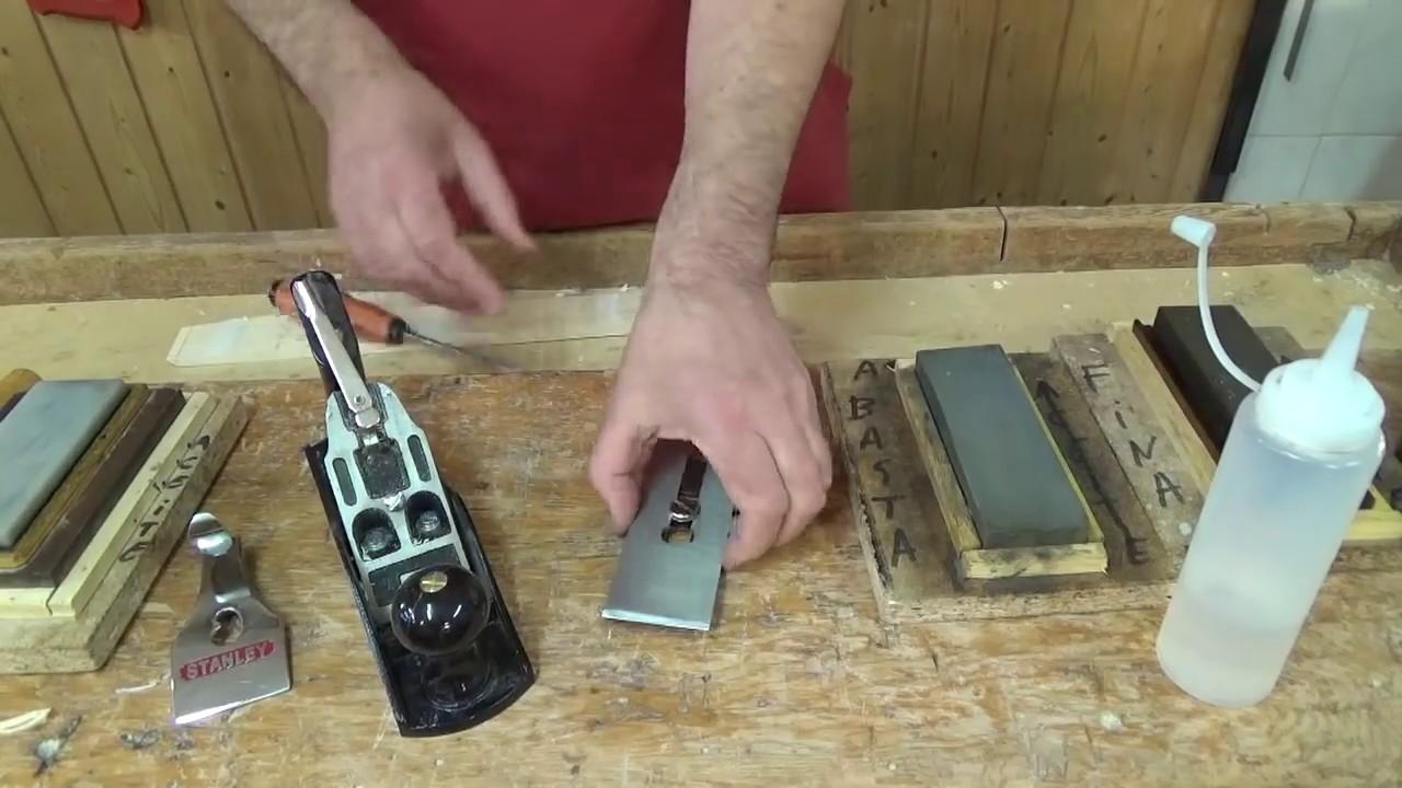 Afilado del cepillo de carpintero youtube - Cepillo de carpintero ...