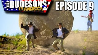 Running From A Giant Boulder - Indiana Jones in Real Life! - Dudesons In America Episode 9