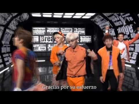 Shinee breaking news making sub español