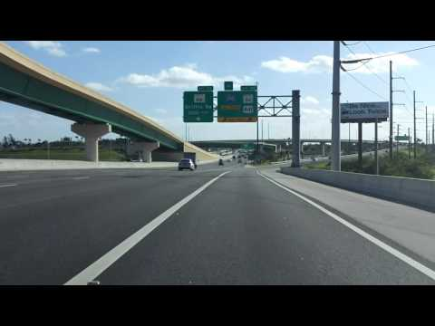 Florida's Turnpike (Exit 54) southbound
