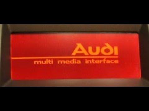 Audi MMI 2G Low Basic -Ukryte menu/hidden Menu