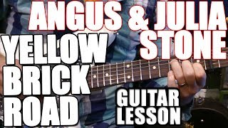 Angus and Julia Stone - Yellow Brick Road: Guitar Lesson