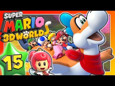 Sandige Plessie-Ausraster 🐱 SUPER MARIO 3D WORLD Part 15