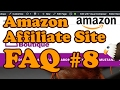 Amazon Affiliate FAQ 8 - Missing Style.css, Adding Sidebars, Trademarks & more