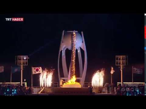 PyeongChang Kış Olimpiyatları Güney ve Kuzey Kore'yi birleştirdi