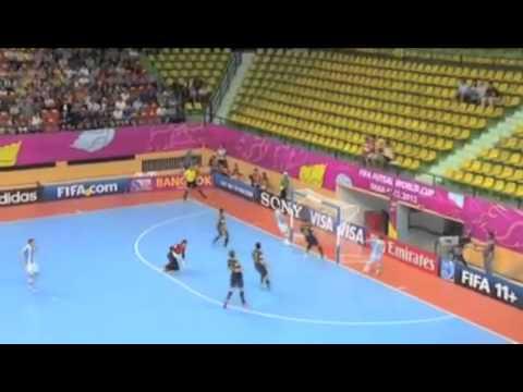 FIFA Futsal World Cup 2012   Australia 1 - 7 Argentina