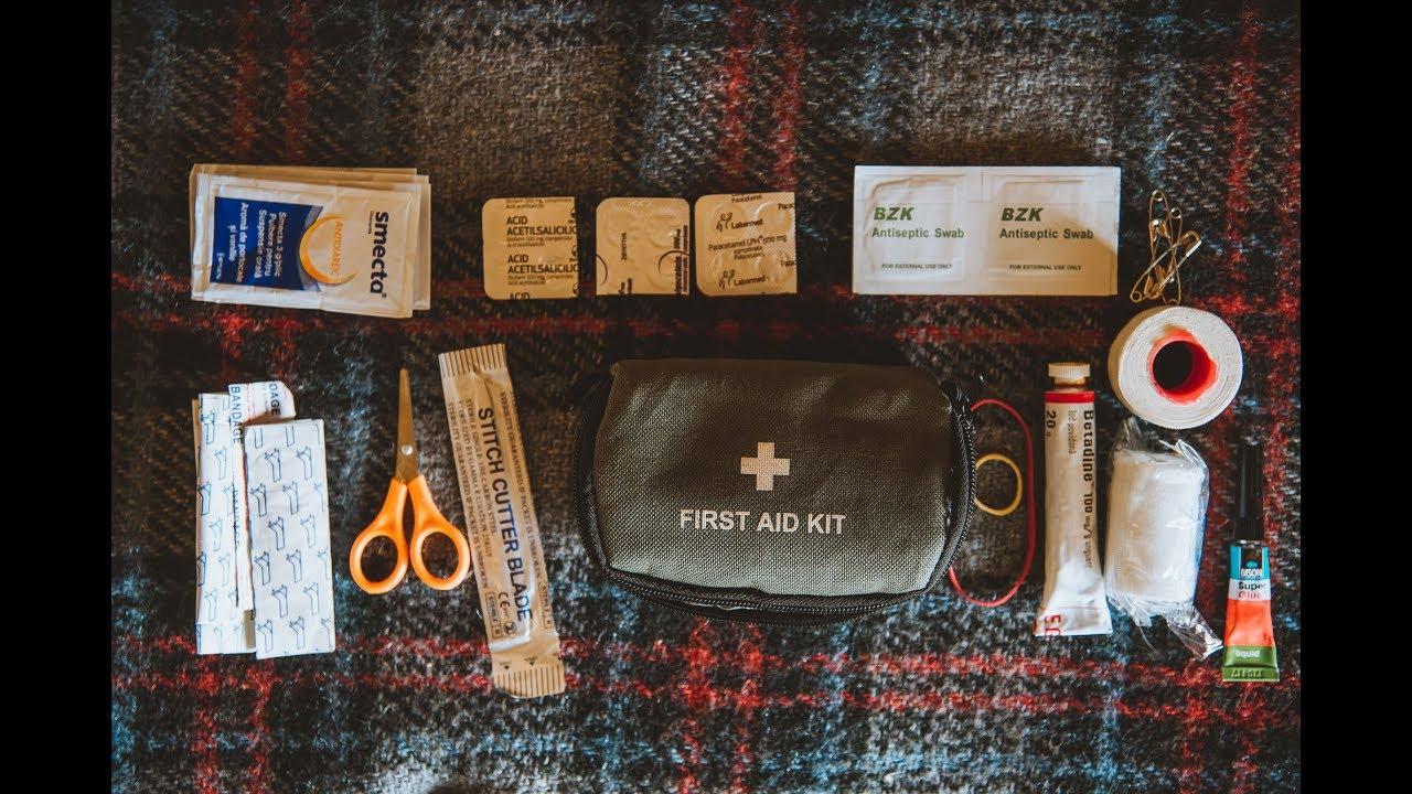 Kit Medical de Calatorie   Trusa Prim Ajutor   Travel Medical Kit
