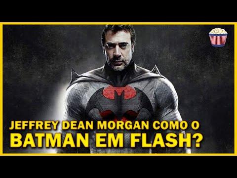 Jeffrey Dean Morgan fala sobre viver o #Batman em #TheFlash e voltar como Negan após #TWD