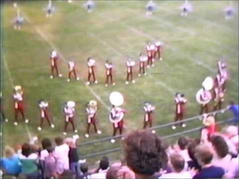 1983 St  Rita H S  Marching Mustangs Halftime Show
