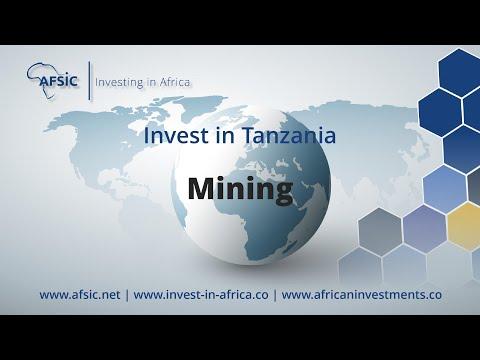 Invest Tanzania Mining - Mining Companies in Tanzania -  Opportunities in Tanzania Mining