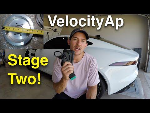 VelocityAp Stage 2 Tune & Pulley Installation On My Jaguar F Type R!!