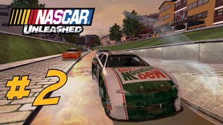 Let's Play Co-op NASCAR Unleashed (PS3) #2: Not The Best Performances