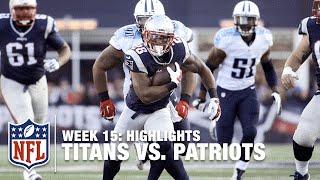 Titans vs. Patriots | Week 15 Highlights | NFL