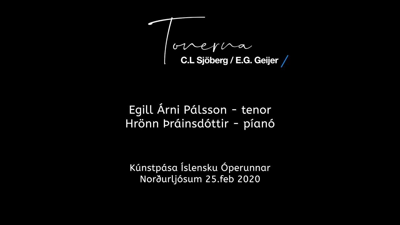 Tonerna - Egill Árni Pálsson og Hrönn Þráinsdóttir