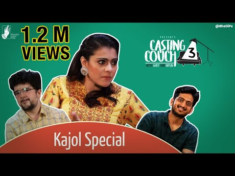 Kajol Speaks Marathi on Casting Couch with Amey & Nipun – Helicopter Eela | #CCWAN3 #bhadipa