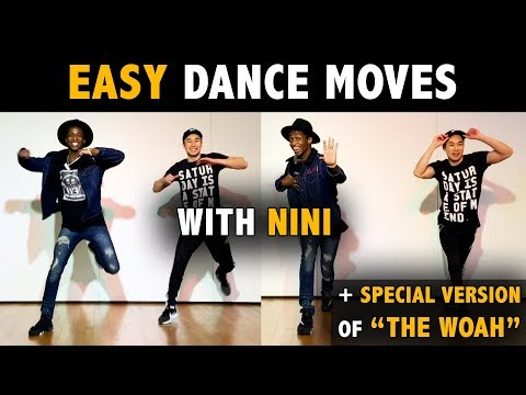Easy Dance Moves with Nini (Beginner Tutorial) | Learn How To Dance