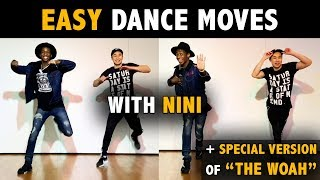 Easy Dance Moves with Nini (Beginner Tutorial)   Learn How To Dance