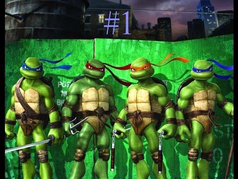 Черепашки ниндзя игры года начало игры людей против черепашек ниндзя