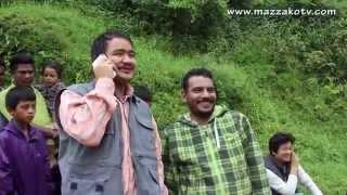 तक्मे र माग्नेको कमेडी || Wilsion Bikarm Rai 'Takme Buda' & Kedar Ghimire 'Magne Buda || Mazzako TV