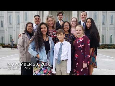 Friendswood Youth at the Houston Temple