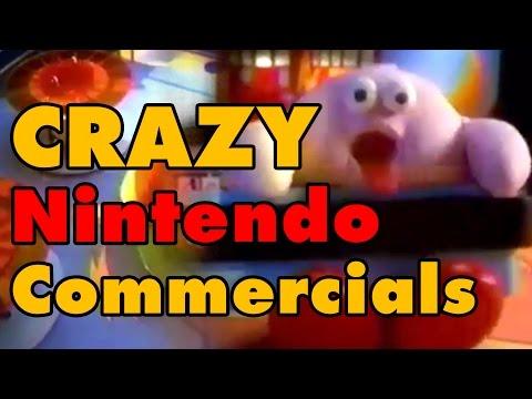 10 CRAZY Nintendo Commercials