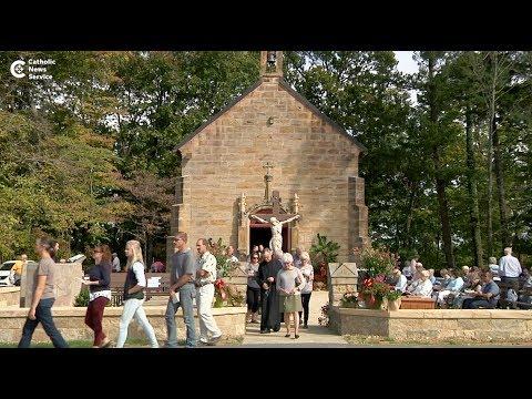 Blessing of restored 'miracle' shrine