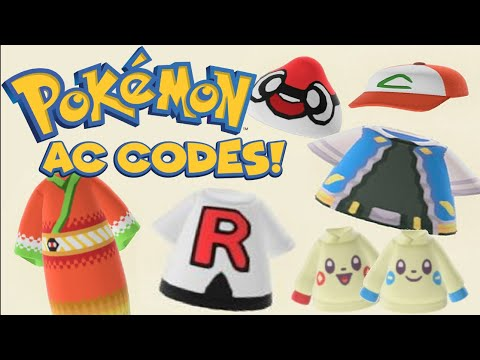 Pokemon Codes For Animal Crossing New Horizons Cute Meets Cool