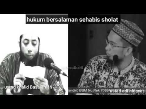 Hukum Bersalaman Setelah Shalat | Ustadz Khalid Basalamah | Ustadz Adi Hidayat