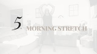 SENSUAL YOGA// 5 MINUTE MORNING STRETCH  Slow Flow