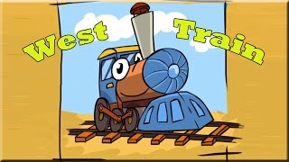 West Train Game Walkthrough (All Levels)