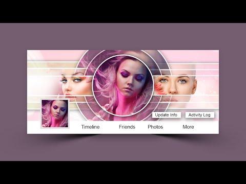 Design Facebook Cover Photos - Photoshop Cc Tutorial