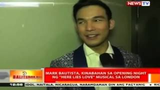 Mark Bautista, kinabahan sa opening night ng