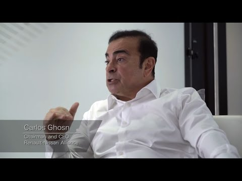 Renault Nissan Alliance CEO Carlos Ghosn Talks about The Future of The Auto Industry