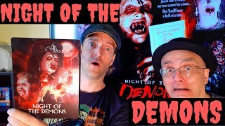Night Of The Demons 1988 Blu-ray Horror Review Video! Blu-ray Collection Update Linnea Quigley