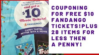 couponing for beginners 2019 101 how to coupon for free fandango tickets