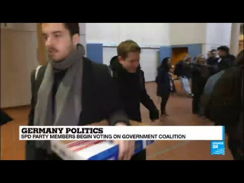 Germany: FRANCE 24 speaks to the head of the young Socialists, Kevin Kuhnert