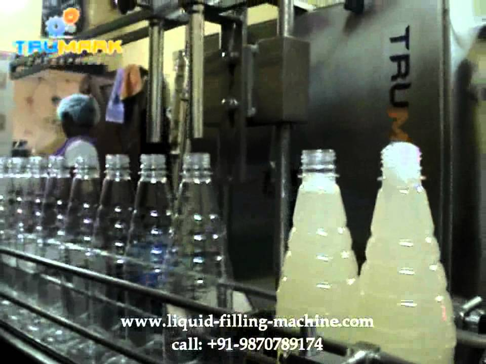 Automatic Bottle Liquid Filling Machine Automatic Capping