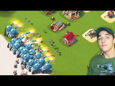 forcing myself to use tanks in boom beach...