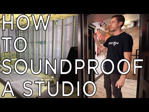 how-to-soundproof---studio---music-room---drum-room---practice-space