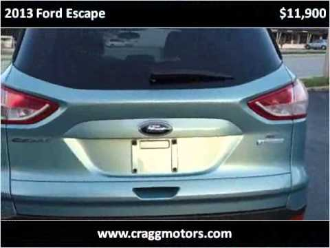 2013 ford escape used cars belton mo youtube for Cragg motors belton mo