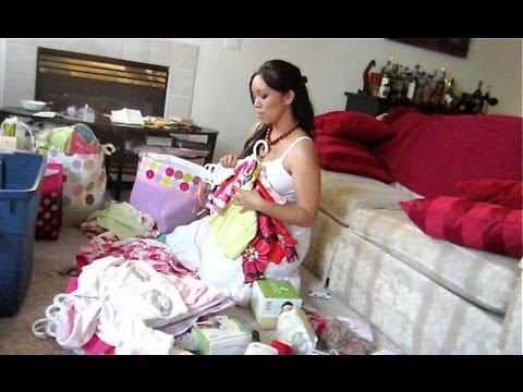 Organizing Baby Clothes! - September 07, 2012 - itsJudysLife Vlog