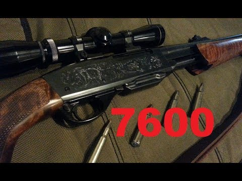Remington 7600 Pump Action Rifle in 30-06: The Whitetail Slaying Machine