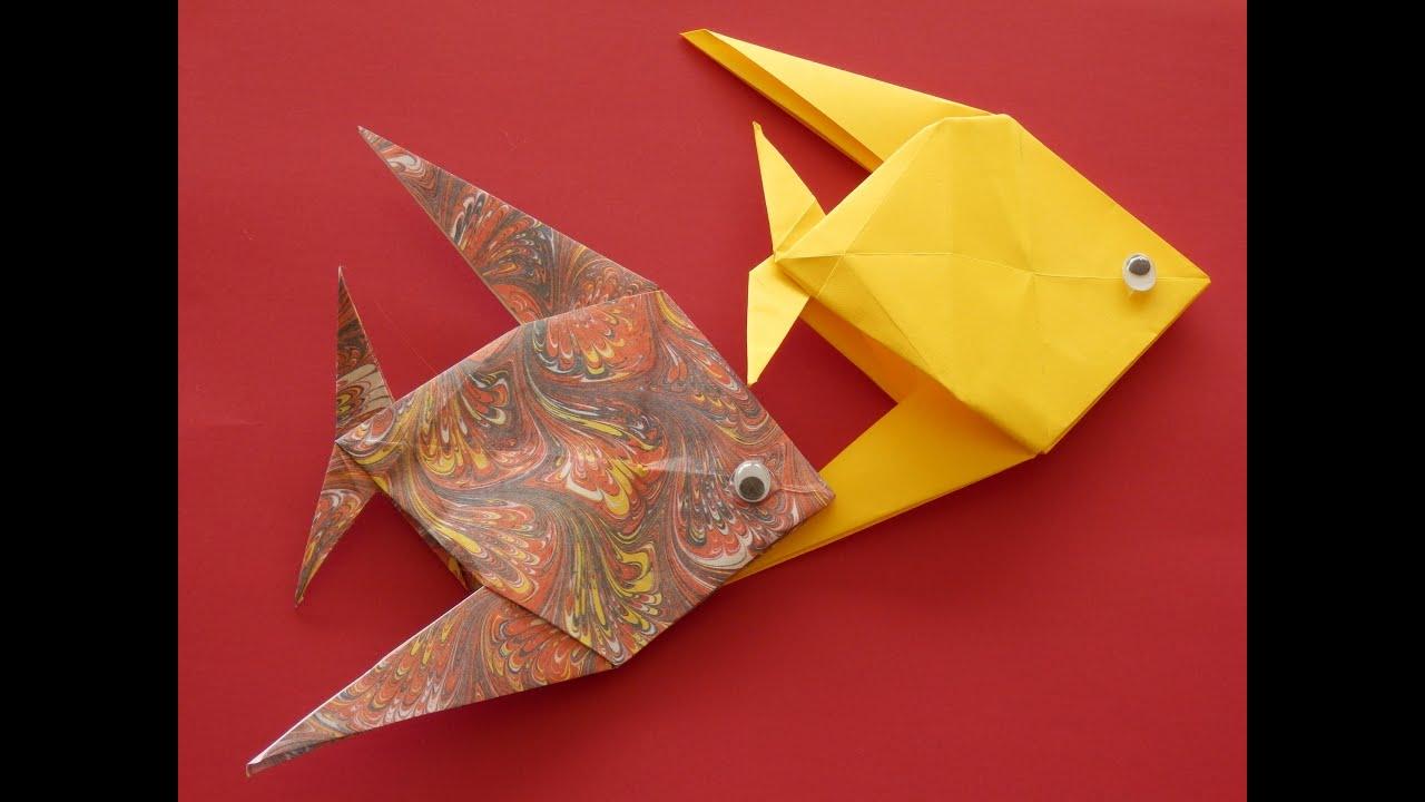 peces de origami youtube